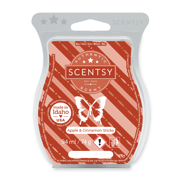 pple & Cinnamon Sticks Scentsy Bar