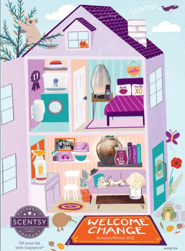 NEW! Scentsy Spring Summer Catalogue 2021