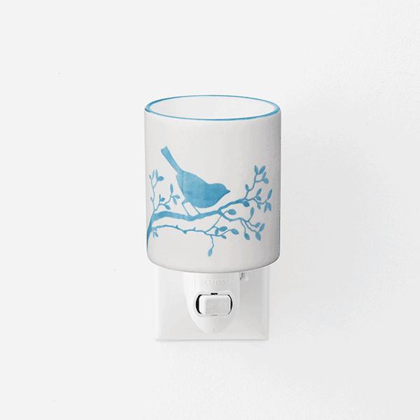 Bluebird Scentsy UK Mini Warmer