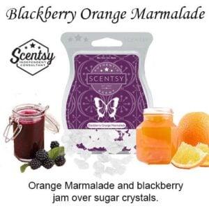 Blackberry Orange Marmalade Scentsy Bar