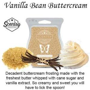 Vanilla Bean Buttercream Scentsy Bar