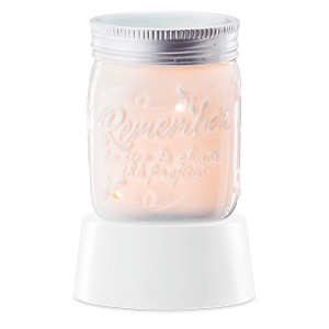 Chasing Fireflies Mini Scentsy Warmer with Tabletop Base - Discontinuing in July 2021