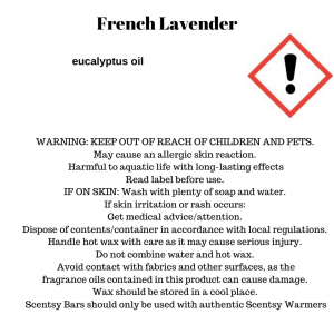 French Lavender Scentsy Bar - Discontinuing in July 2021