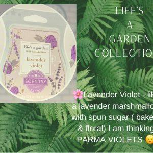 Lavender Violet Scentsy Bar