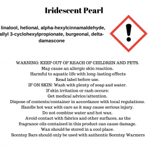 Iridescent Pearl Scentsy Bar - Discontinuing in July 2021