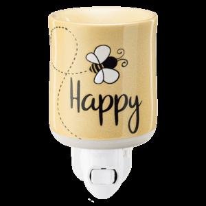 Bee Happy Mini Warmer with Wall Plug