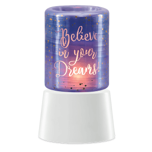 Believe in Your Dreams Mini Warmer with Tabletop Base
