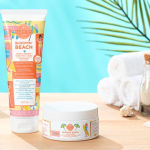 Scentsy Bloomin' Beach Spa Bundle