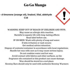 Go, Go, Mango Scentsy Bar