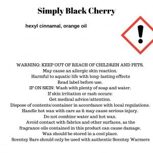 Simply Black Cherry Scentsy Bar