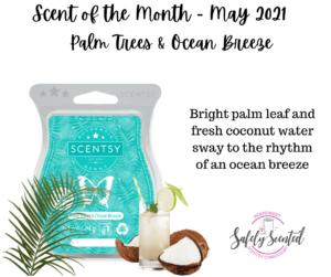 Palm Trees & Ocean Breeze Scentsy Bar