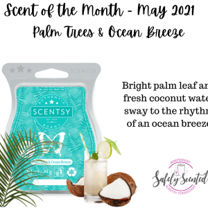 Palm Trees & Ocean Breeze Scentsy Bar