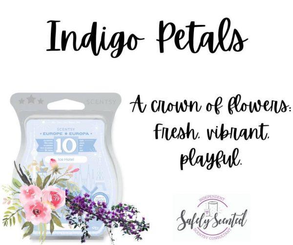 Indigo Petals Scentsy Wax Bar