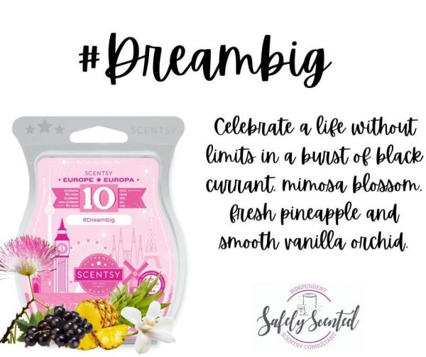 Dream Big Scentsy Wax Bar