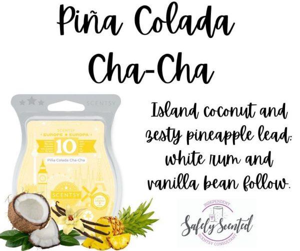 Pina Colada Cha-Cha Scentsy Wax Bar