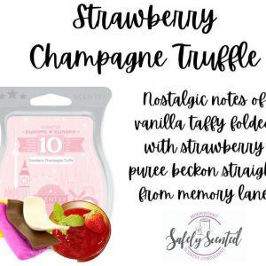 Strawberry Champagne Truffle Scentsy Wax Bar