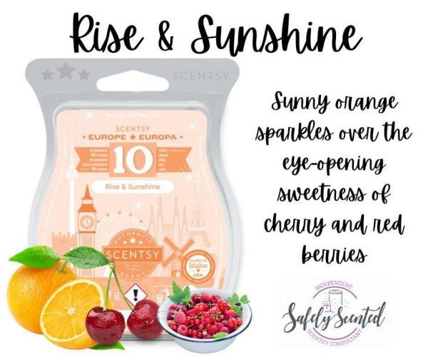 Rise & Sunshine Scentsy Wax Bar