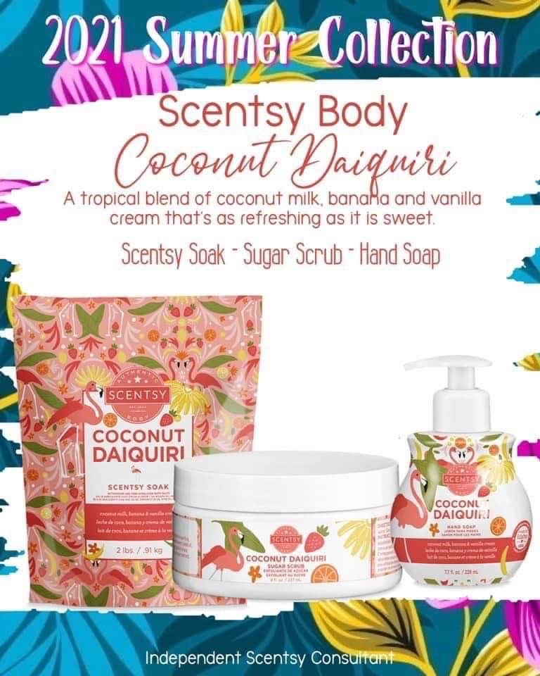 Scentsy Spring Summer 2021 Collection
