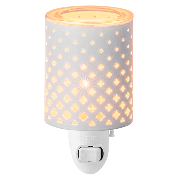 Light From Within Scentsy Mini Warmer Wall Plug