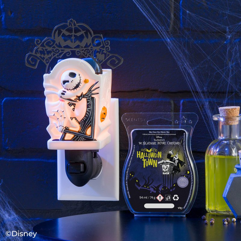 Jack Skellington: Pumpkin King – Scentsy Mini Warmer