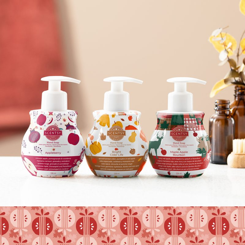 Scentsy Harvest Hand Soap 3-Pack