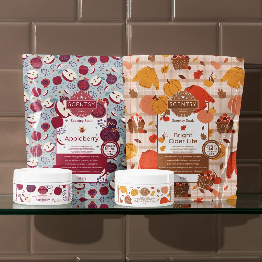 Scentsy 2021 Harvest Collection