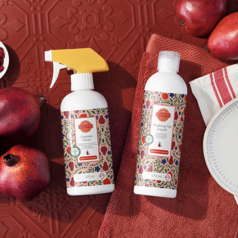 Red Pear & Pomegranate Clean Bundle