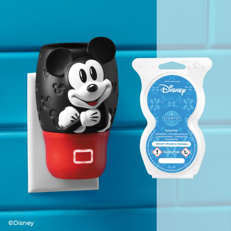 Disney Mickey Mouse – Scentsy Wall Fan Diffuser