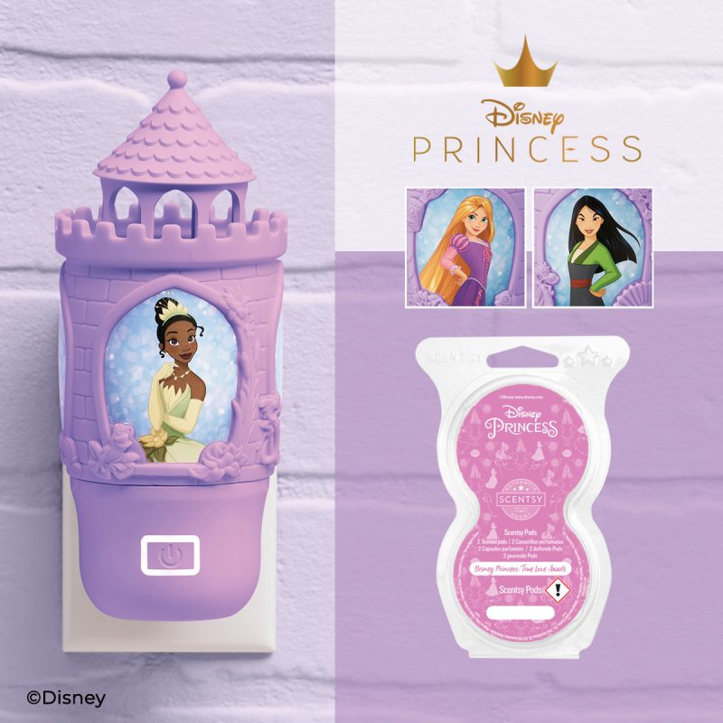 Disney Princess – Scentsy Wall Fan Diffuser