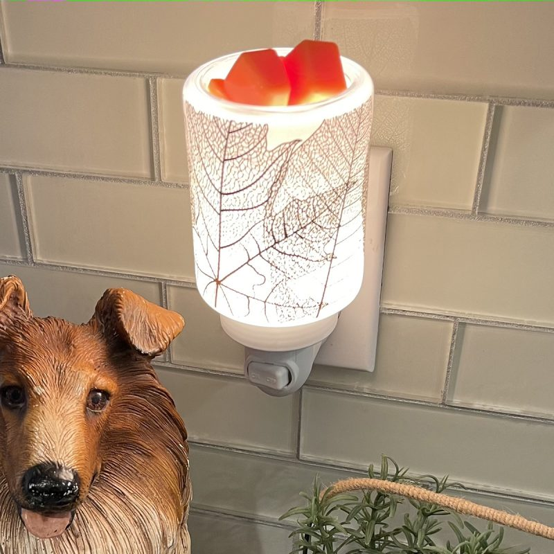 Gilded Leaves Scentsy Mini Warmer