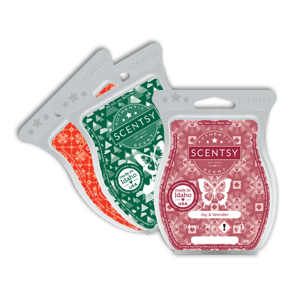 Holiday Scentsy Bar 3 Pack