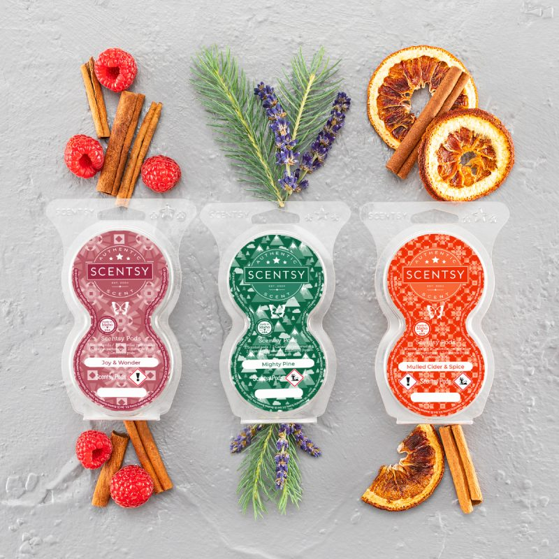 Christmas Scentsy Pods
