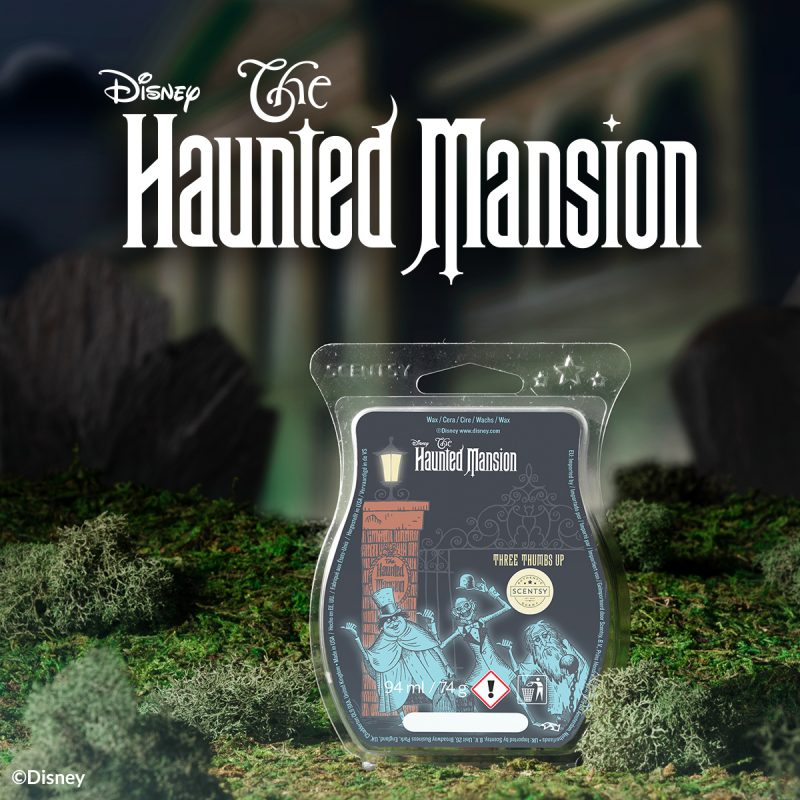 Disney The Haunted Mansion: Three Thumbs Up – Scentsy Bar,